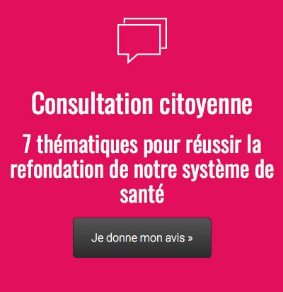 Consultation citoyenne Frédéric Bizard